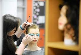 Cosmetology demonstration
